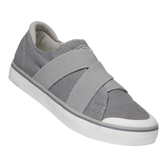 Keen รองเท้าผู้หญิง 1020482 W-ELSA III GORE SLIP-ON STEEL GREY