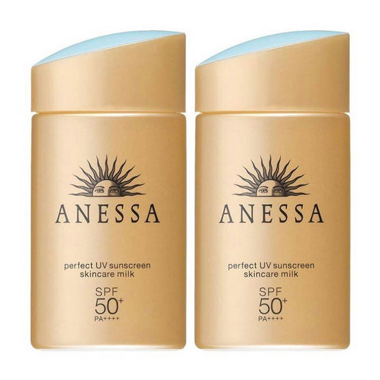 Anessa Perfect UV Sunscreen Milk 60 ml (แพ็คคู่)