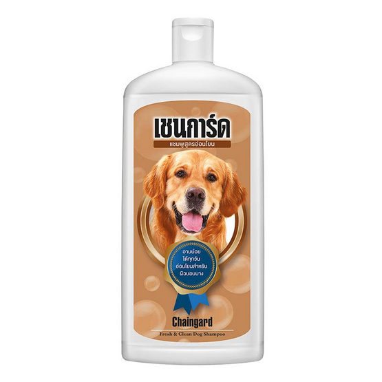 Chaingard แชมพูสุนัขช่วยลดกลิ่นสาบ 350 มล.