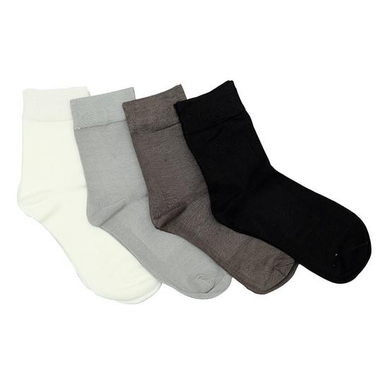 Annasocks ถุงเท้าธุรกิจ รุ่น P006 เซ็ต 4 คู่ คละสี male