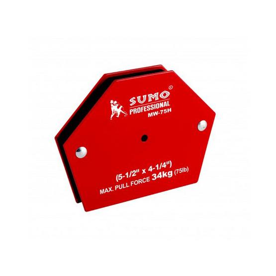 "SUMO แม่เหล็กฉาก 6 เหลี่ยม ขนาด 5 1/2"" x 4 1/4"" รุ่น MW-75H"