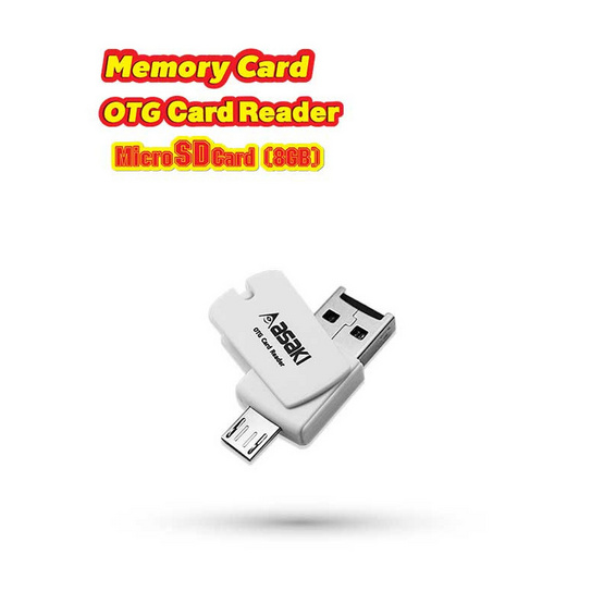 Asaki MicroSD Card 8Gb รุ่น A-C17