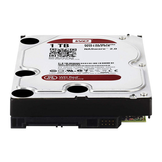 "WD Caviar Red 3.5"" HDD NAS SATA3(6Gb/s) 64MB 5400RPM 1 TB (WD10EFRX)"