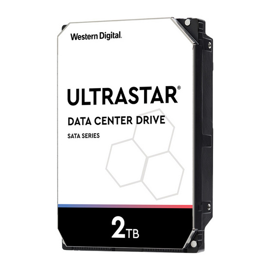 """WD Ultra Star 3.5"""" 26.1mm  HDD SATA ULTRA 512N SE 7K2 7200RPM 2 TB (1W10002)"""