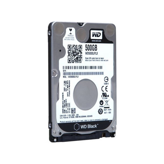 """WD Scorpio Black 2.5"""" HDD SATA3(6Gb/s) 32MB 7200RPM 500 GB (WD5000LPLX)"""