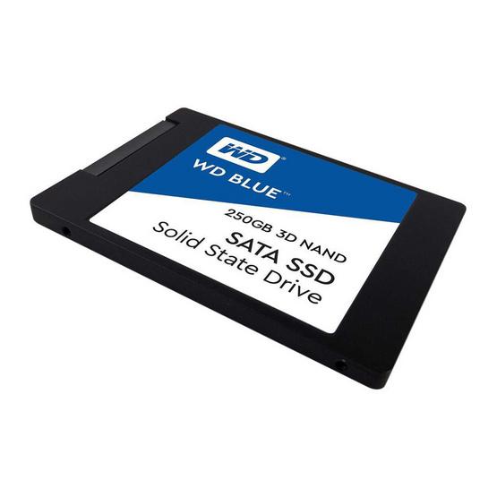 """WD SSD Blue 2.5"""" SATA 3(6GB/S) 250 GB (WDS250G2B0A)"""