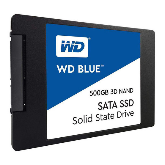 """WD SSD Blue 2.5"""" SATA 3(6GB/S) 500 GB (WDS500G2B0A)"""