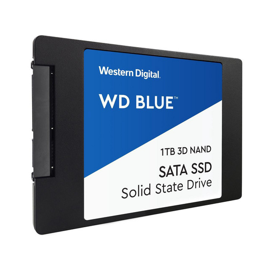 "WD SSD Blue 2.5"" 7mm SATA 3(6GB/S) 1 TB (WDS100T2B0A)"