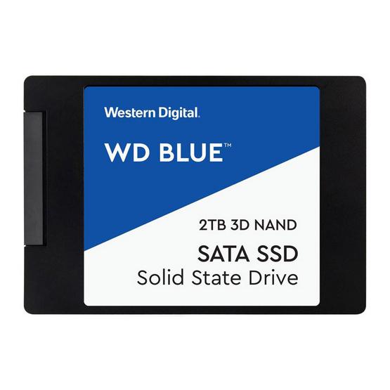 """WD SSD Blue 2.5"""" 7mm SATA 3(6GB/S) 2 TB (WDS200T2B0A)"""