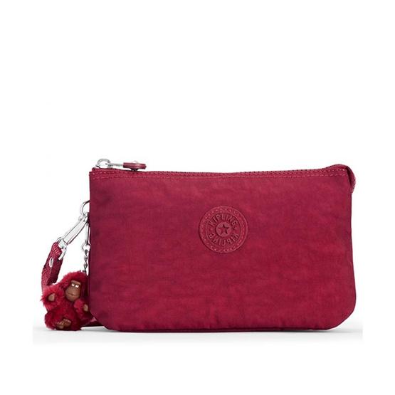 กระเป๋าคล้องมือ Kipling Creativity XL - Radiant Red C [MCK1515648W]