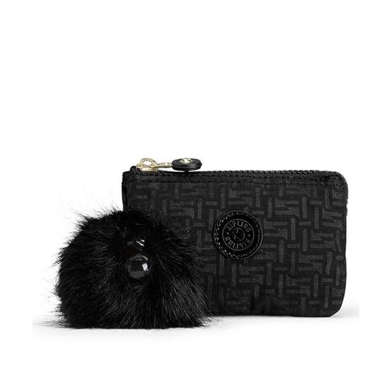 กระเป๋าอเนกประสงค์ Kipling Creativity S - Black Pylon Emb [MCK1520547K]