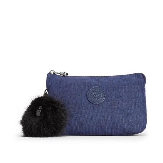 กระเป๋าคล้องมือ Kipling Creativity XL - Cotton Indigo [MCK1581348G]