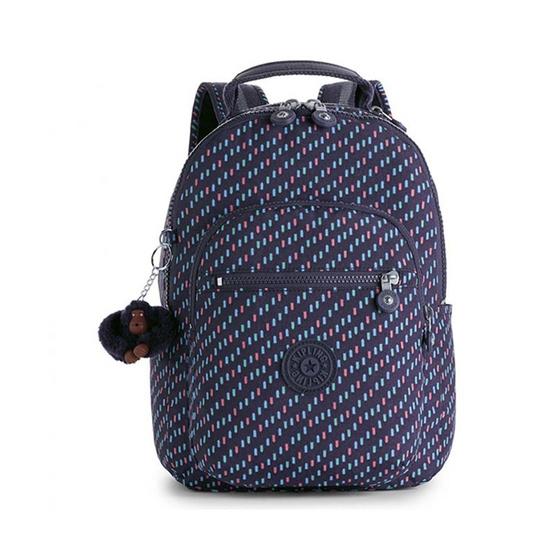 กระเป๋า Kipling Seoul Go S - Blue Dash C [MCK1867428T]