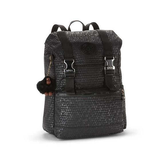 กระเป๋าเป้ Kipling Experience S - Black Scale Emb [MCK1922919M]