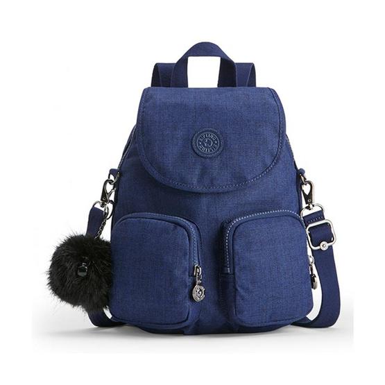 กระเป๋าเป้ Kipling Firefly UP - Cotton Indigo [MCK2351248G]