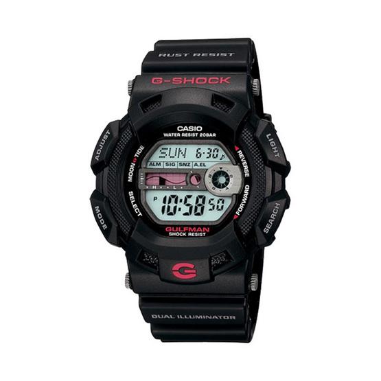 Casio G-Shock นาฬิกาข้อมือผู้ชาย สายเรซิ่น รุ่น G-9100-1DR