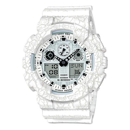 G-Shock นาฬิกาข้อมือ Analog-Digital รุ่น GA-100CG-7ADR