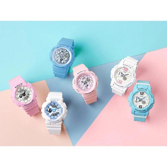 Baby-G นาฬิกาข้อมือ รุ่น BA-110BE-4ADR สีชมพู