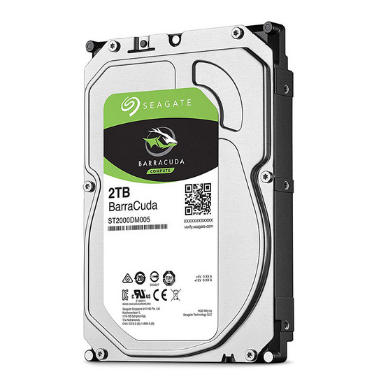 "Seagate BarraCuda Compute HDD 3.5"" 5400 RPM 256MB SATA 6GB/s (ST2000DM005) 2TB"
