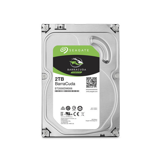 "Seagate BarraCuda Compute HDD 3.5"" 7200 RPM 256MB SATA 6GB/s (ST2000DM008) 2TB"