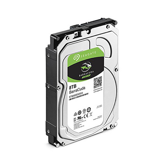 "Seagate BarraCuda Compute HDD 3.5"" 5400 RPM 256MB SATA 6GB/s (ST8000DM004) 8TB"