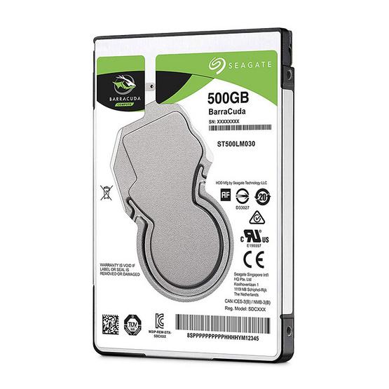 "Seagate BaraCuda Mobile HDD 2.5"" 5400 RPM 128MB SATA 6GB/s (ST500LM030) 500GB"