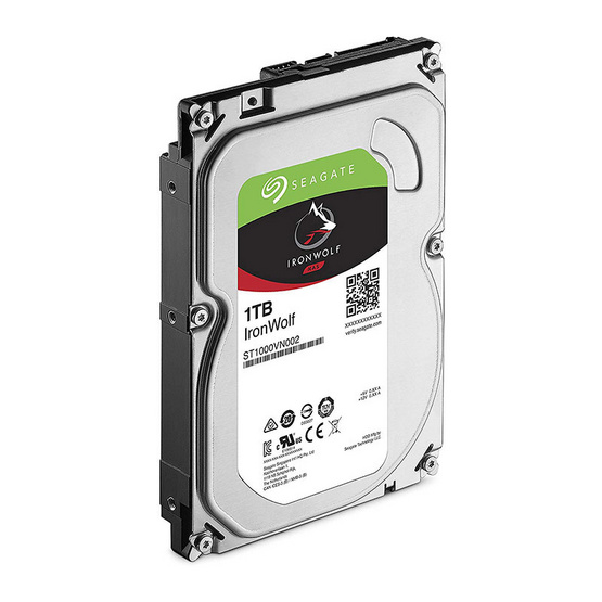 "Seagate IronWolf NAS HDD 3.5"" 5900 RPM 64MB SATA 6GB/s (ST1000VN002) 1TB"