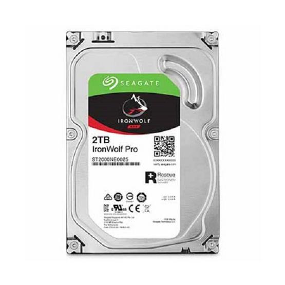 "Seagate IronWolf Pro NAS HDD 3.5"" 7200 RPM 128MB SATA 6GB/s (ST2000NE0025) 2TB"