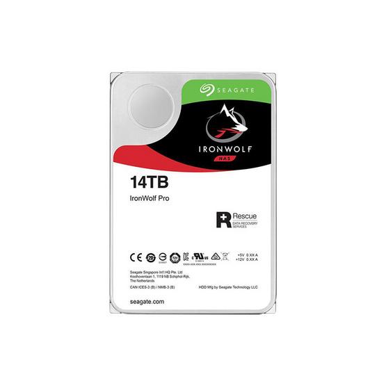 "Seagate IronWolf Pro NAS HDD 3.5"" 7200 RPM 256MB SATA 6GB/s (ST14000NE0008) 14TB"