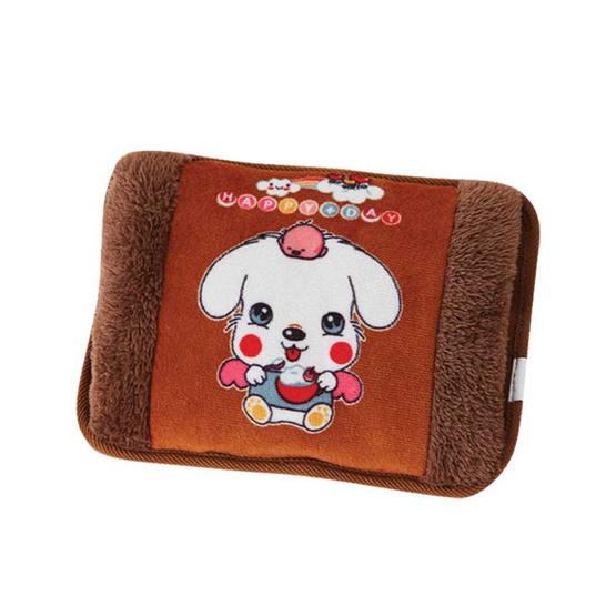 กระเป๋าน้ำร้อน หมาน้อยแองเจิ้ล คละลายพื้นหลัง