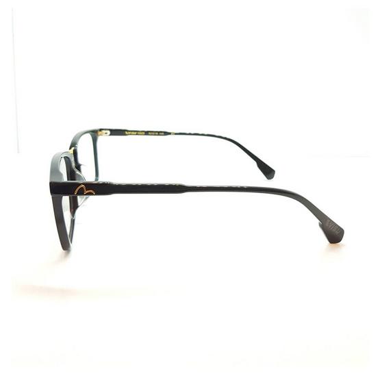 EVISU กรอบแว่นตา eyewear 1025 รหัสสี 1 สีดำเงา