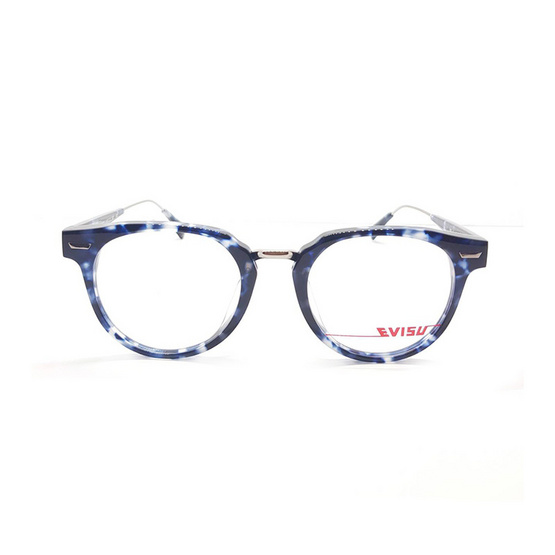 EVISU กรอบแว่นตา eyewear 1033 รหัสสี 3 สีกละน้ำเงิน