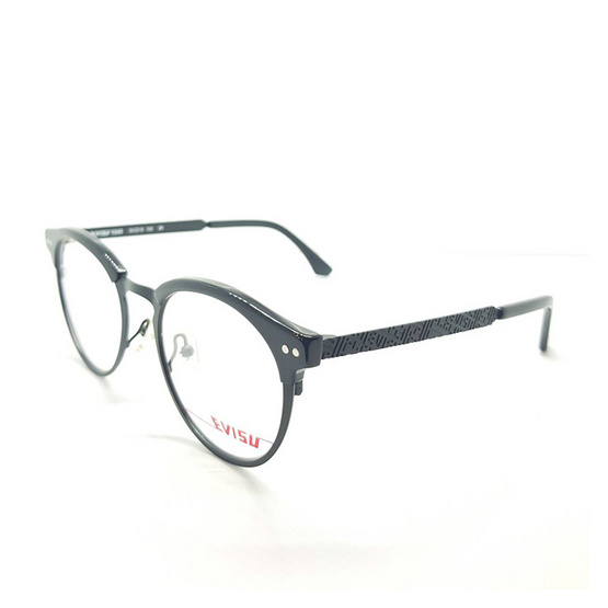 EVISU กรอบแว่นตา eyewear 1040 รหัสสี 1 สีดำเงา /ดำคาร์บอน
