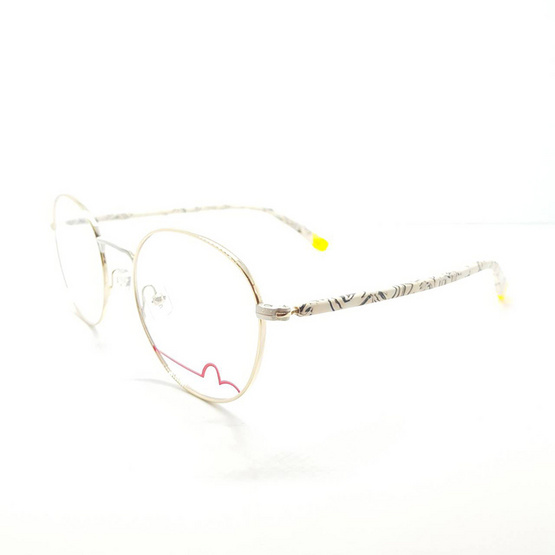 EVISU กรอบแว่นตา eyewear 1019 รหัสสี 4 สีเงินเงา