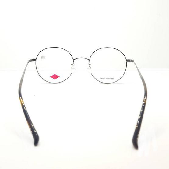 Leecooper กรอบแว่นตา 3220 รหัสสี c1m/bl สีเงิน/ดำด้าน