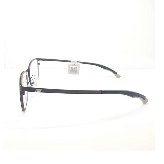 New balance กรอบแว่นตา Elock 05151z รหัสสี c03 สีน้ำตาลด้าน/ขาล็อคน้ำตาล