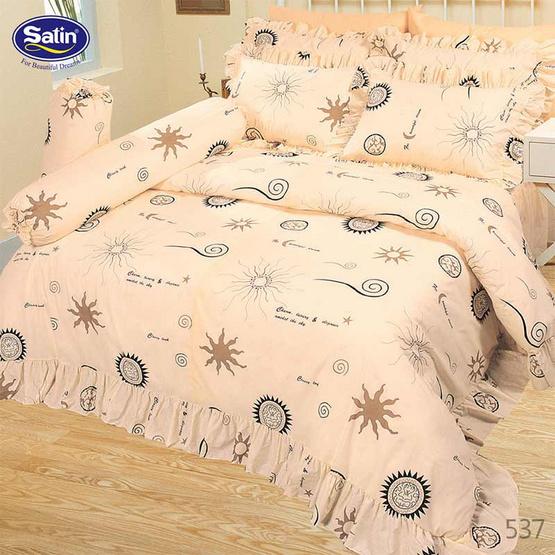 Satin ผ้าปูที่นอน ลาย 537