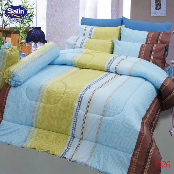 Satin ผ้าปูที่นอน ลาย D26
