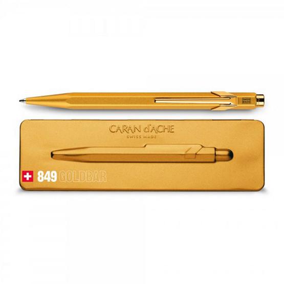 Caran d'Ache ปากกาลูกลื่นด้ามทอง พร้อมกล่องโลหะ 849.999
