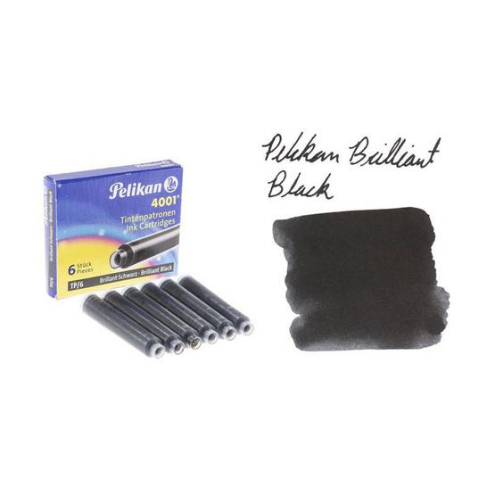 Pelikan ปากกาหมึกซึม TWIST Neon Yellow (แถมฟรี! หมึกหลอด 2 กล่อง)