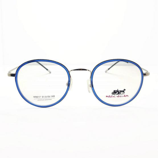 Mark william กรอบแว่นตา 9617 รหัสสี 05 สีเงิน/น้ำเงินใส