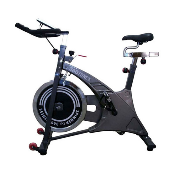 360 Fitness จักรยานนั่งปั่นออกกำลังกาย รุ่น HP-SP0708