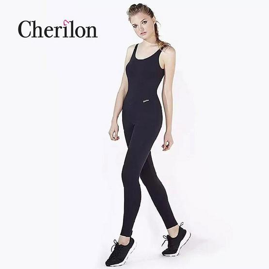 CHERILON Body Jumpsuit รุ่น NSA-ACT006 ชุด Jumpsuit ขายาว คอกลมกว้างหลังเว้า ไม่มีแขน