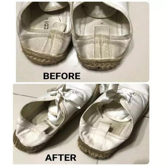 CHOONANO 1 Free 1 น้ำยาทำความสะอาดรองเท้า มาพร้อมผ้าไมโครไฟเบอร์และแปรงทำความสะอาด