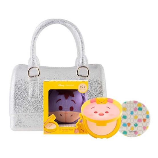 Cathy Doll All Tsum Tsum ดิสนีย์ ซูม ซูม ซีซี พาวเดอร์ 12 g #21 (Eeyore) + มินิเจลลี่แบ็ก เคทีดอล