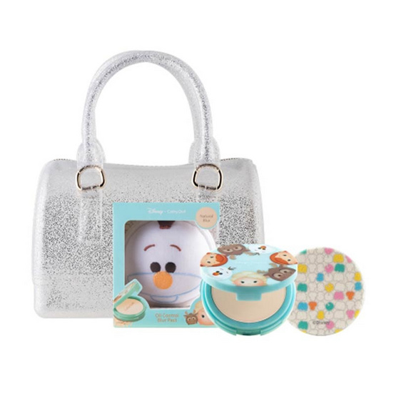 Cathy Doll All Tsum Tsum ดิสนีย์ ซูม ซูม ซีซี พาวเดอร์ 12 g #Olaf + มินิเจลลี่แบ็ก เคทีดอล
