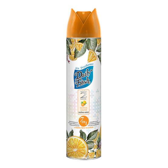 Daily Fresh แบ็คทูเนเจอร์ 7in1 กลิ่นทรอปิคอล ออเรนจ์ 300 มล.
