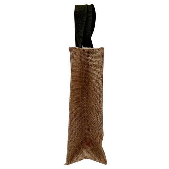 กระเป๋าผ้ากระสอบ หูสั้นสีเขียว หูยาวผ้ากระสอบ รักษ์โลก