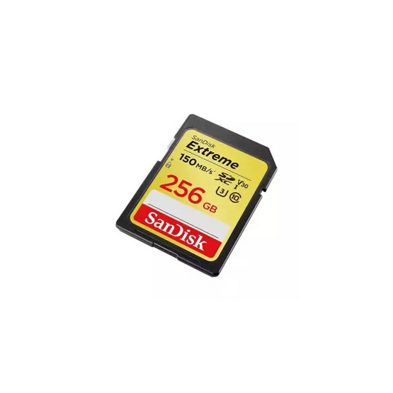 SanDisk Extreme SD Card Speed 256GB 150MBs