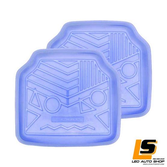 LEOMAX ถาดปูพื้นพลาสติก PVC ด้านหลัง รุ่น Spirit Lion (สีฟ้าใส)